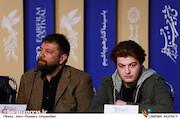 نشست خبری فیلم سینمایی «ابر بارانش گرفته»