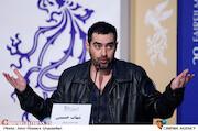 شهاب حسینی در نشست خبری فیلم سینمایی «شین»
