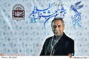 حسین مسافر آستانه در عوامل فیلم های سی و هشتمین جشنواره فیلم فجر در موزه سینما