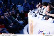 حسام الدین آشنا در نشست خبری فیلم سینمایی «خورشید»