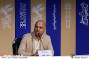 مسعود نجفی در اعلام نامزدهای سودای سیمرغ سی و هشتمین جشنواره فیلم فجر