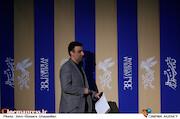 ابراهیم داروغه زاده در اعلام نامزدهای سودای سیمرغ سی و هشتمین جشنواره فیلم فجر