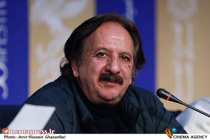 مجید مجیدی در نشست خبری فیلم سینمایی «خورشید»