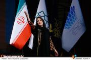 طناز طباطبایی در اختتامیه سی و هشتمین جشنواره فیلم فجر