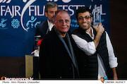 محمد کارت و رسول صدرعاملی در اختتامیه سی و هشتمین جشنواره فیلم فجر