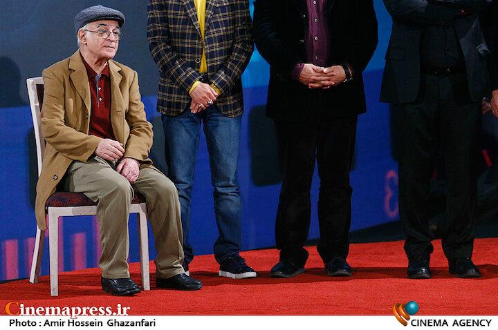 فریدون جیرانی در اختتامیه سی و هشتمین جشنواره فیلم فجر