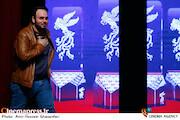 محمدحسین مهدویان در مراسم تجلی اراده ملی سی و هشتمین جشنواره فیلم فجر