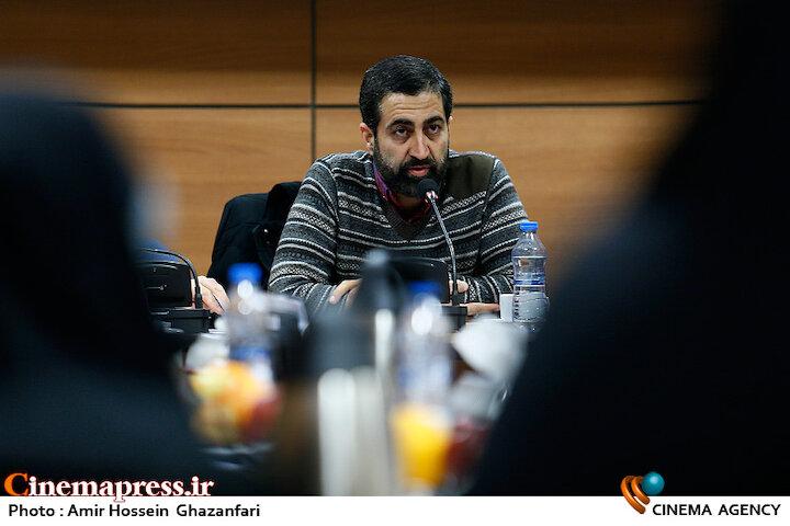 ابوالفضل همراه در نشست تخصصی نسبت سینمای انقلاب و دفاع مقدس با بیانیه گام دوم انقلاب اسلامی