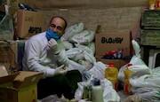 مبارزهی رزمندگان فاطمیون با ویروس کرونا به تصویر کشیده می شود