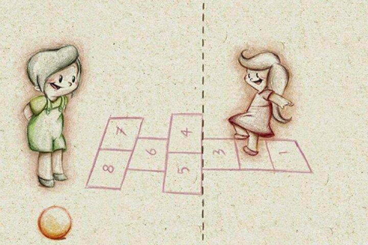 انیمیشن کوتاه «این سو، آن سو»