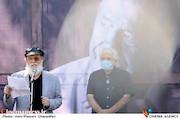 سخنرانی امین تارخ در مراسم تشییع پیکر مرحوم «محمدعلی کشاورز»