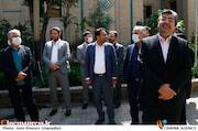 محمدمهدی طباطبایی نژاد در مراسم تکریم و معارفه رئیس «حوزه هنری»