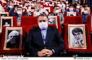 علیرضا تابش در مراسم تکریم و معارفه رئیس «حوزه هنری»