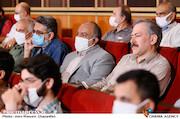مهدی عظیمی میرآبادی در مراسم تکریم و معارفه رئیس «حوزه هنری»