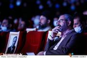 محسن مومنی شریف در مراسم تکریم و معارفه رئیس «حوزه هنری»