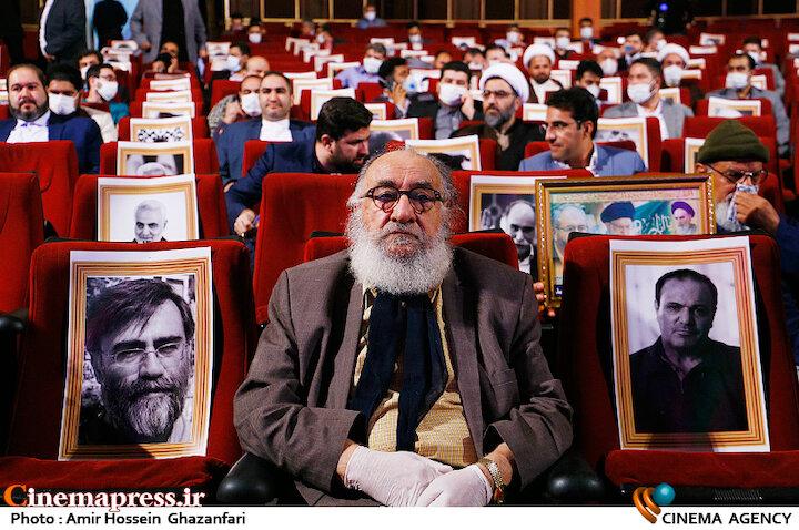 داریوش ارجمند در مراسم تکریم و معارفه رئیس «حوزه هنری»