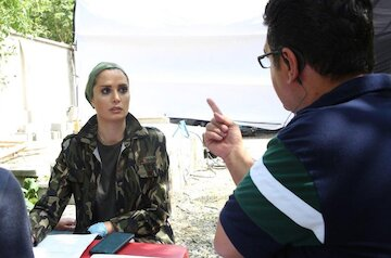 تجربه جدید عطشانی با بازیگر زن عرب