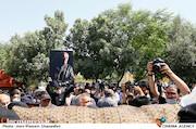 مراسم تشییع پیکر مرحوم «سیروس گرجستانی»