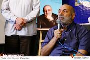 جمال شورجه در مراسم اختتامیه هجدهمین دوره جایزه «قلم زرین»