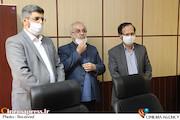 جلسه معارفه مدیر شبکه مستند