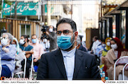 سیدمجتبی حسینی در مراسم اختتامیه نخستین جایزه بزرگ «سرو»