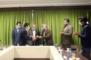 مراسم تکریم و معارفه مدیرعامل و هیات مدیره انجمن هنرهای نمایشی ایران