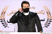 حسام نواب صفوی در مراسم تجلیل از افتخارآفرینان سینمای ایران در عرصه بینالملل