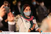 فاطمه معتمدآریا در مراسم تجلیل از افتخارآفرینان سینمای ایران در عرصه بینالملل