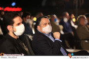 علیرضا تابش در مراسم تجلیل از افتخارآفرینان سینمای ایران در عرصه بینالملل