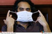 افشین هاشمی در نشست خبری نمایش«عشق روزهای کرونا»