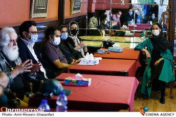 عکس / نشست خبری نمایش«عشق روزهای کرونا»