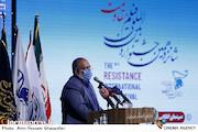 مهدی عظیمی میرآبادی در افتتاحیه شانزدهمین جشنواره بینالمللی فیلم «مقاومت»
