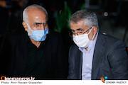 مرتضی شعبانی و حبیب والینژاد در مراسم اختتامیه شانزدهمین جشنواره بینالمللی فیلم «مقاومت»