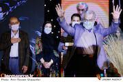 مجید انتظامی در مراسم اختتامیه شانزدهمین جشنواره بینالمللی فیلم «مقاومت»
