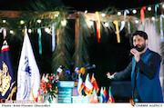 صابر خراسانی در مراسم اختتامیه شانزدهمین جشنواره بینالمللی فیلم «مقاومت»