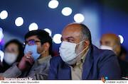 مهدی عظیمی میرآبادی در مراسم اختتامیه شانزدهمین جشنواره بینالمللی فیلم «مقاومت»