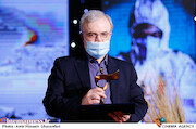 دکتر سعید نمکی در مراسم اختتامیه شانزدهمین جشنواره بینالمللی فیلم «مقاومت»