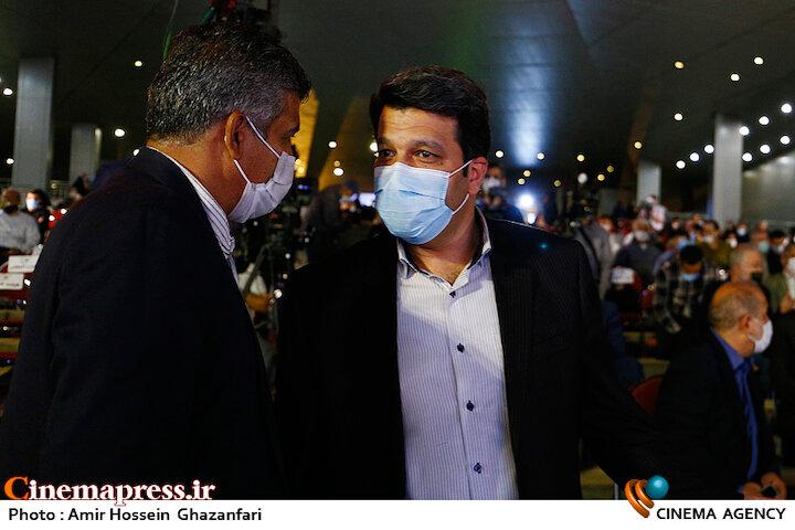 محمد خزاعی در مراسم اختتامیه شانزدهمین جشنواره بینالمللی فیلم «مقاومت»