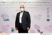 حبیب ایل بیگی در حاشیه روز دوم سیودومین جشنواره بینالمللی فیلمهای کودکان و نوجوانان