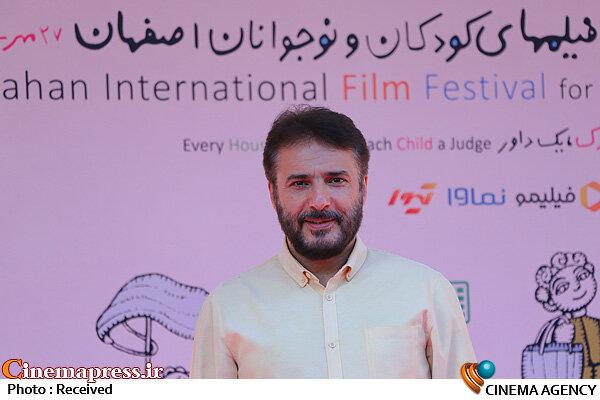 سیدجواد هاشمی در حاشیه روز دوم سیودومین جشنواره بینالمللی فیلمهای کودکان و نوجوانان