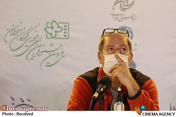 رامین ناصرنصیر در نشست خبری فیلم سینمایی «سلفی با رستم»