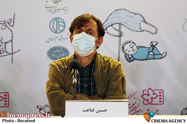 حسین قناعت در نشست خبری فیلم سینمایی «سلفی با رستم»