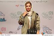 شبنم قلی خانی در حاشیه روز چهارم سیودومین جشنواره بینالمللی فیلمهای کودکان و نوجوانان