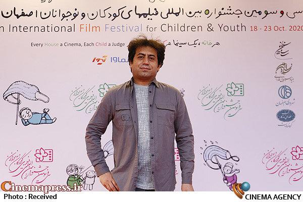 حاشیه روز چهارم سیودومین جشنواره بینالمللی فیلمهای کودکان و نوجوانان؛ فریدون نجفی