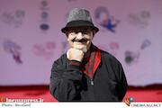 غلامحسین لطفی در حاشیه آخرین روز سیودومین جشنواره بینالمللی فیلمهای کودکان و نوجوانان