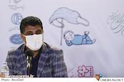 ابراهیم عامریان در نشست خبری فیلم سینمایی «نارگیل»