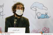 علی قویتن در نشست خبری فیلم سینمایی«آرزوی زیبا»