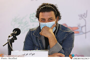 جواد عزتی در نشست خبری فیلم سینمایی «خورشید»