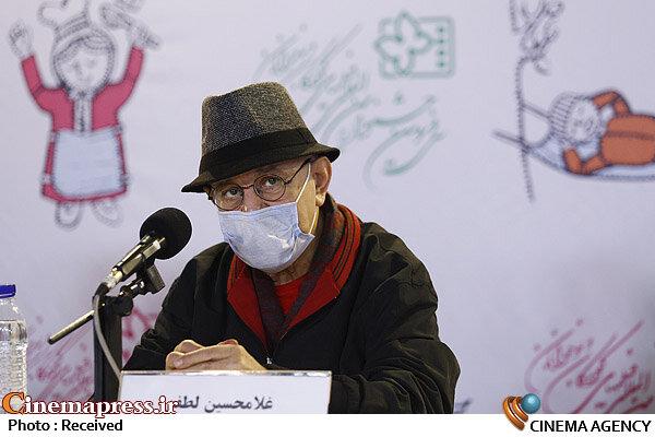 غلامحسین لطفی در نشست خبری فیلم سینمایی «نارگیل»