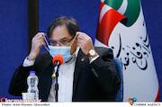 حمید نیلی در نشست خبری هفدهمین جشنواره تئاتر مقاومت